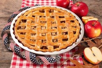 Amerikanischer Apfelkuchen