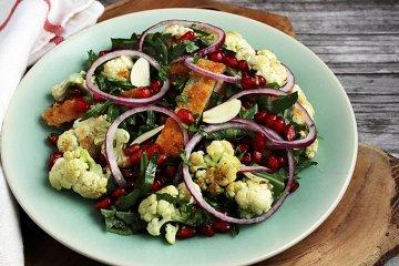 Blumenkohl-Minze-Salat