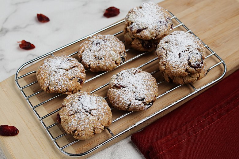 Vollkorn-Cranberry-Kekse