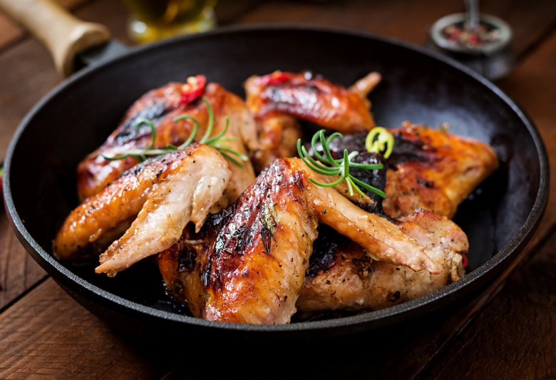 Mediterrane Chicken Wings