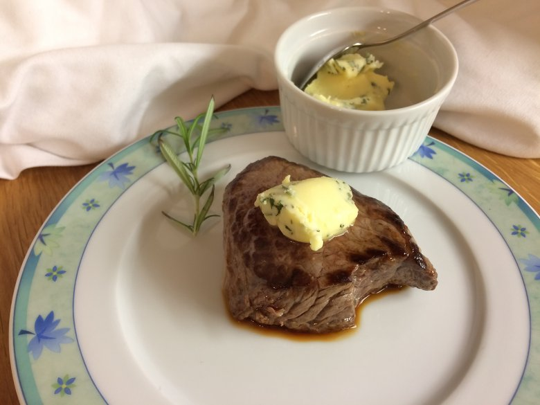 Rosmarin-Butter-Steak