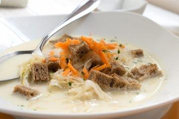 Thüringer Sauerkrautsuppe