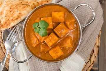 Curry-Tofu