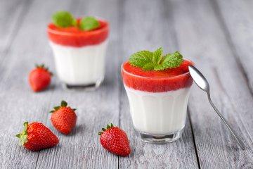 Erdbeercreme
