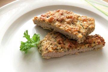 Low Carb-Schnitzel mit Parmesanpanade