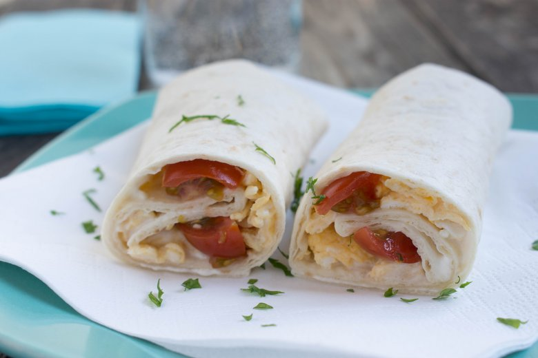 Frühstücks-Burrito
