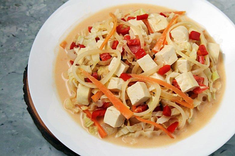Chinakohl-Kokos-Curry