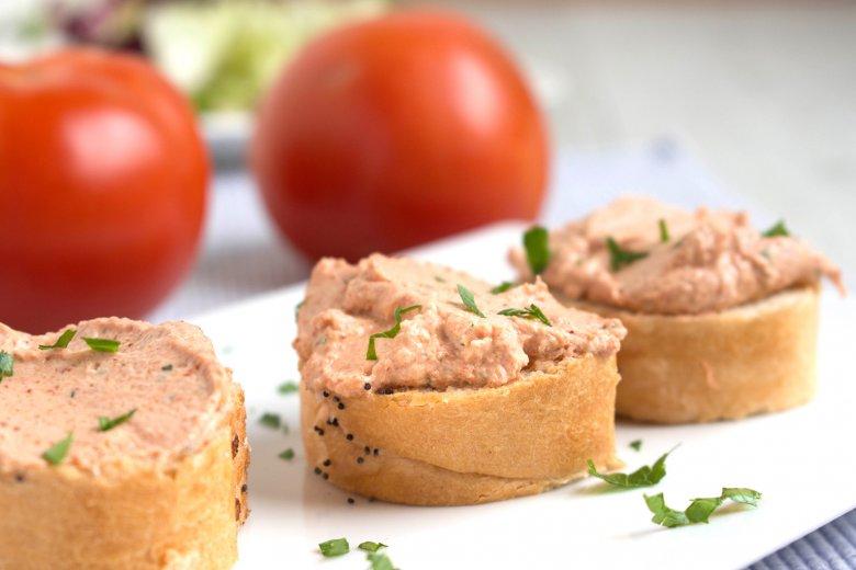 Tomaten-Aufstrich mit Tofu