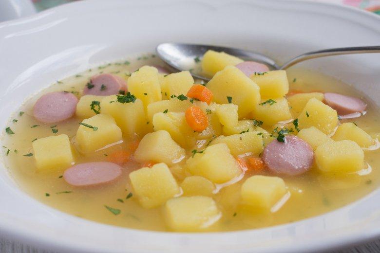Schwäbische Kartoffelsuppe