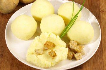 Bayerische Kartoffelknödel