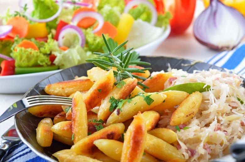 Schupfnudeln mit Sauerkraut