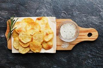 Kartoffelchips selbstgemacht
