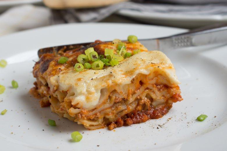 Schnelle Pfannen-Lasagne