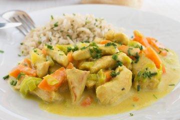 Curry Hähnchen-Pfanne