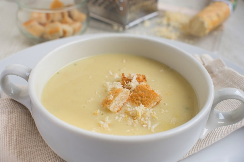 Meerrettich Pastinaken Suppe