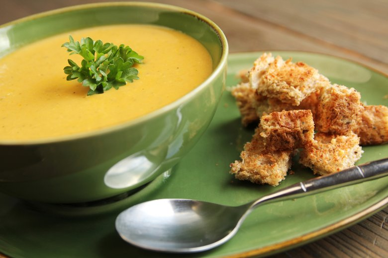 Schnelle Karottensuppe