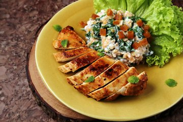 Tandoori-Chicken-Salat