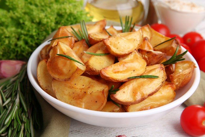 Würzige Kartoffel-Wedges