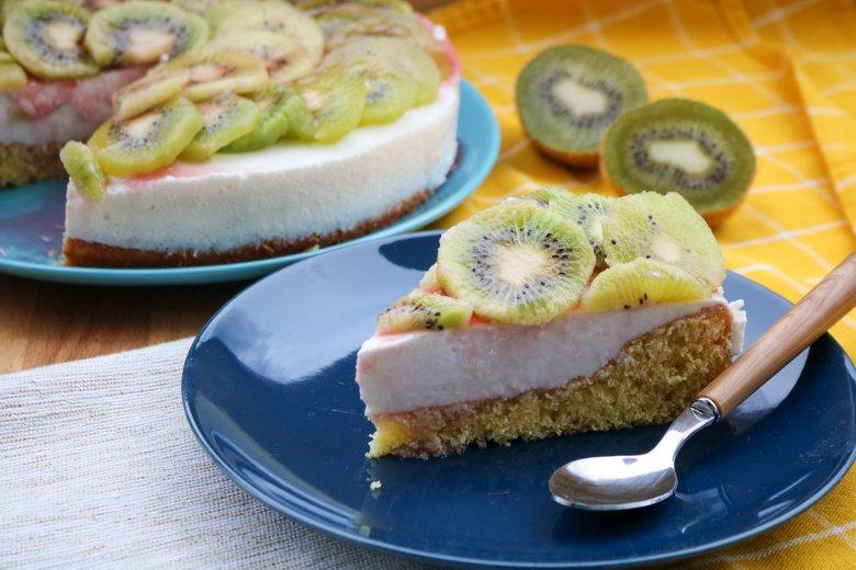 Kiwi-Joghurttorte