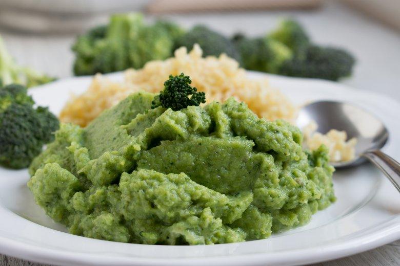 Brokkoli-Käse-Püree