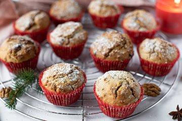 Winterliche Muffins