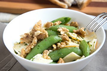 Zuckerschoten-Salat