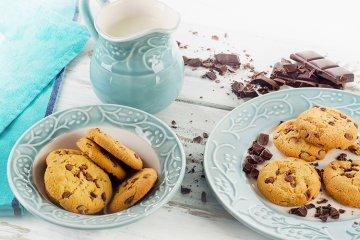 Knusprige Schokoladen-Cookies