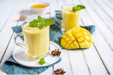 veganer Mango-Lassi