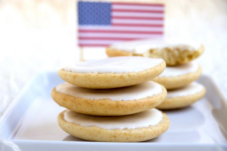 Saftige Amerikaner mit Puddingpulver