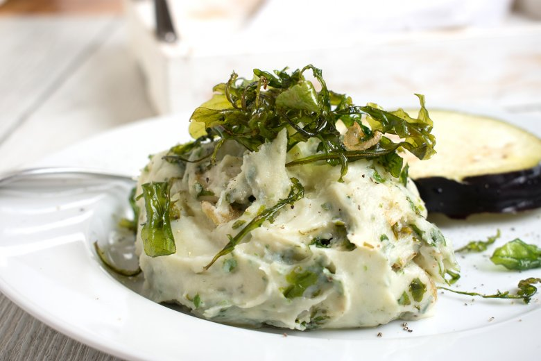 Rucola-Kartoffelpüree