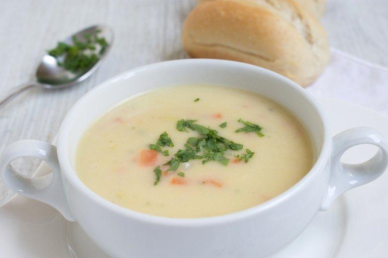 Weißweinsuppe
