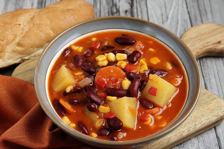 Vegetarische Mexikosuppe