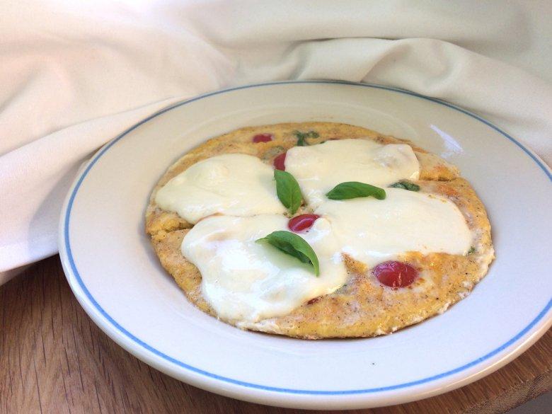 Tomaten-Pfanne mit Mozzarella