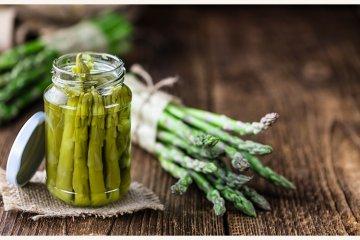 Fermentierter Grüner Spargel