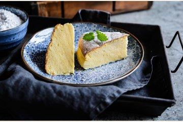 Japanischer Soufflé-Käsekuchen