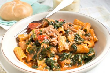 Penne in Thunfisch-Sauce