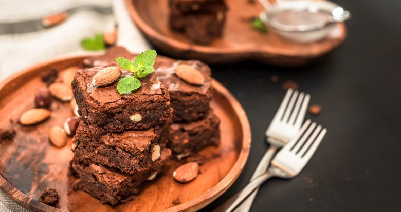 Schoko-Mandel-Brownies