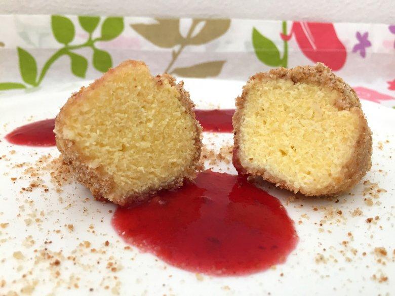 Süße Nockerln mit Quark und Grieß