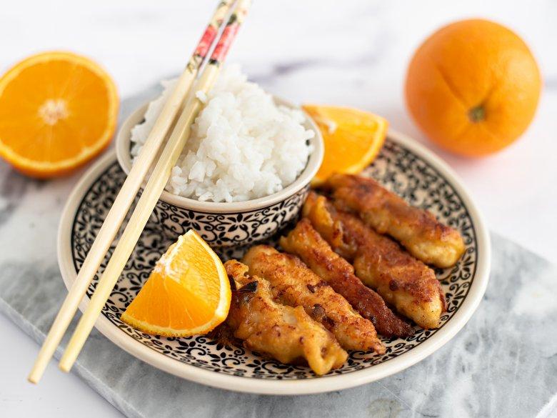 Orangen Chicken