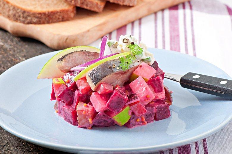 Roter Hering Salat