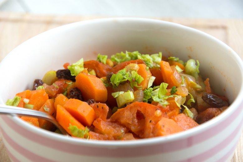 Möhren-Ingwer-Gemüse