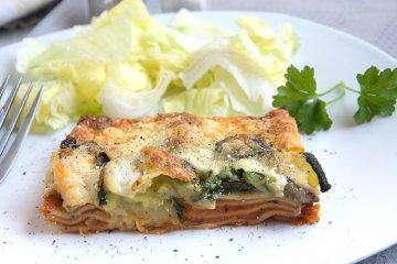 Einfache Veggie-Lasagne