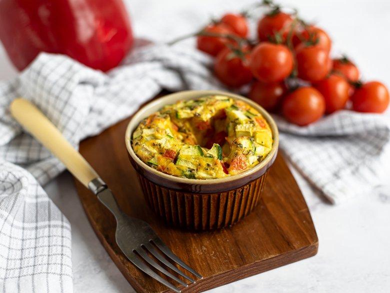 Gemüse-Flan