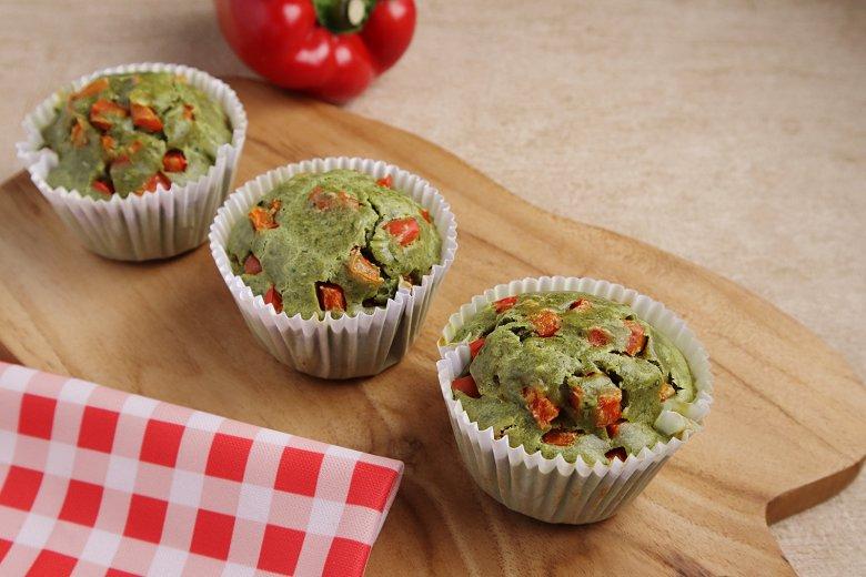 Pesto-Muffins