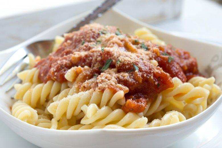 Fusilli mit Tomatensauce