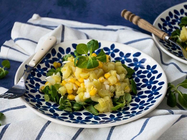 Kartoffel-Mais-Salat