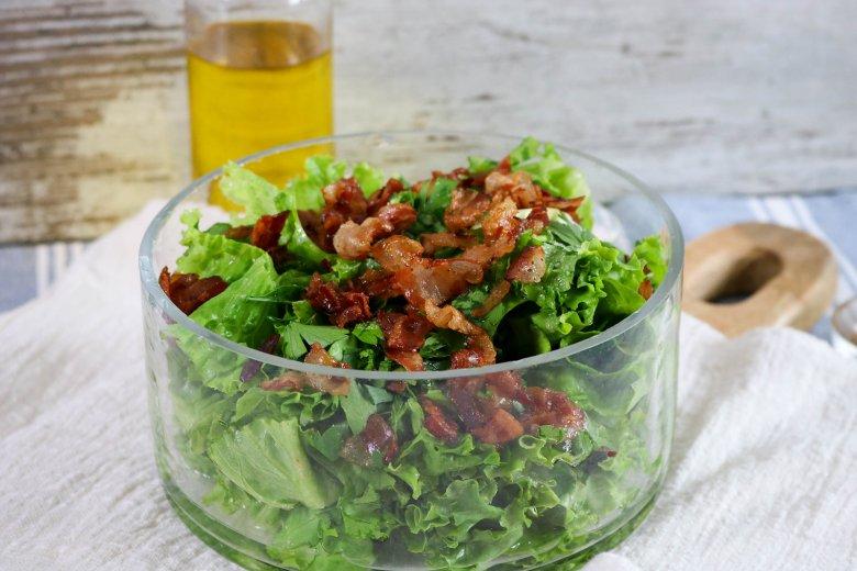 Specksalat aus Mecklenburg