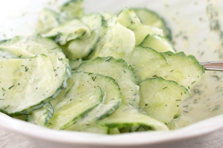 Kräuter-Gurkensalat