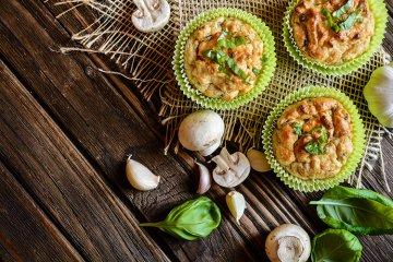 Champignon-Muffins