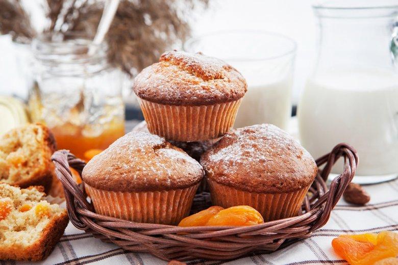 Aprikosen-Muffins